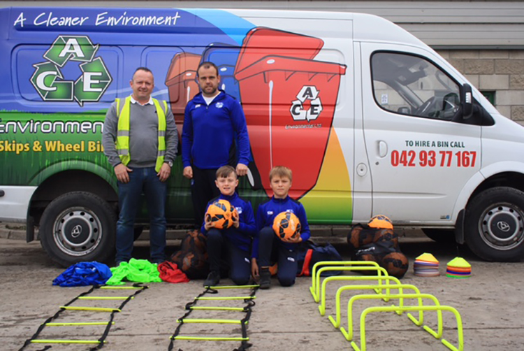 Ace Environmental support Muirhevnamor FC